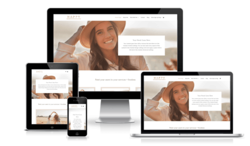 Ready made Wordpress Website Template - Complete Website in a Box - Ditch the DIY Drama